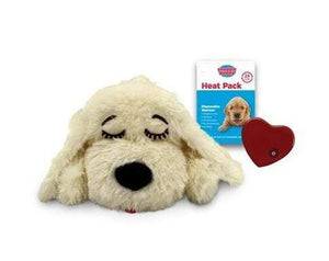 Pet Stop Store Golden Snuggle Puppy Smart Pet with Heartbeat for Dogs