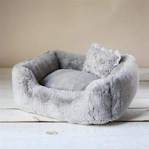 Pet Stop Store Gray The Divine Dog Bed in Colors Black, Gray & White