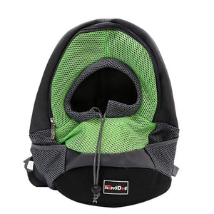 Pet Stop Store Green / M Over the Shoulder Pet Carrier Backpack in All Colors