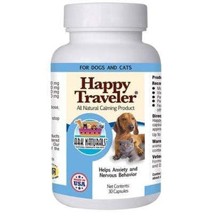 Pet Stop Store Happy Dog & Cat Traveler 30 caps Ark Naturals