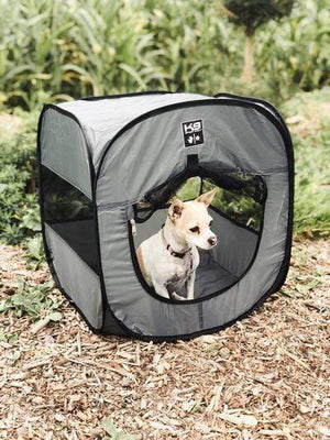 Pet Stop Store K9 Sport Shack Gray Pop-Up Dog Tent