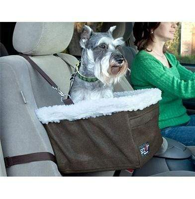 Large Oxford Car Booster Seat for Pets up to 18lbs