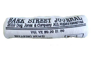 Pet Stop Store Medium Funny Bark Street Journal Dog Toy