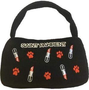 Pet Stop Store Medium Saint Pawrent Lipstick Toy Handbag for Dogs