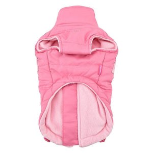 Pet Stop Store Pink & Blue Tintin  Puffer Dog Vest Harness