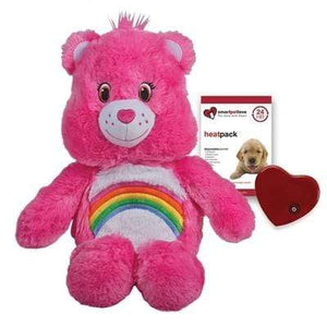 Pet Stop Store Pink Cheer Care Bear Smart Pet with Heartbeat in Brown & Pink