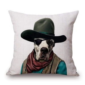Pet Stop Store Playful & Unique Eco-Friendly Cartoon Printed Dog Pillow Covers