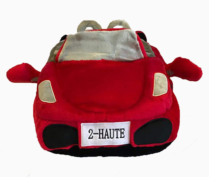 Plush Red Sports Car Dog Bed