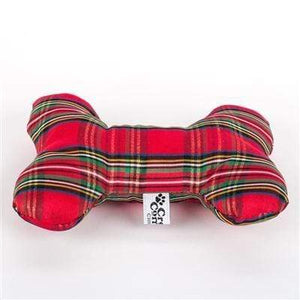 Pet Stop Store Red & Green Plaid Dog & Cat Toy at Pet Stop Store
