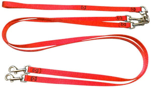 Pet Stop Store Red Two Dog No Tangle No Twist Leash
