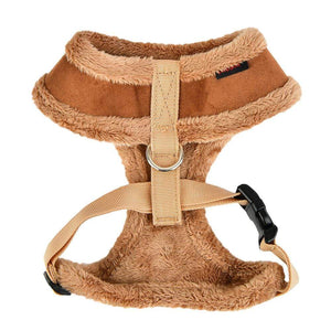 Pet Stop Store s brown Terry Dog Harness in Gray, Brown, Black