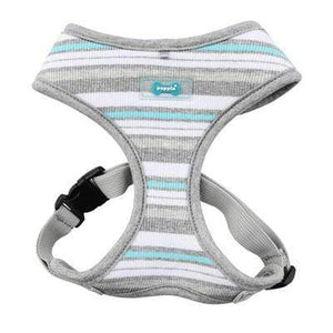 Pet Stop Store s gray Red & Gray Striped Oceane Dog Harnesses All Sizes at Pet Stop Store