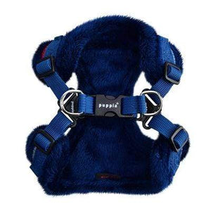 Pet Stop Store s navy Crayon Dog Harness in Colors Navy & Brown