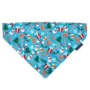 Pet Stop Store s Winter Wonderland Christmas Holiday Dog Bandana Tie Accessory