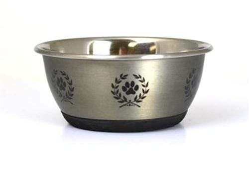 Modern Metal Dog & Cat Bowls (Gold, Silver or Copper)
