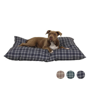 "Pet Stop Store Small 27""x 36"" blue Reversible Indoor & Outdoor Dog Bed All Sizes"