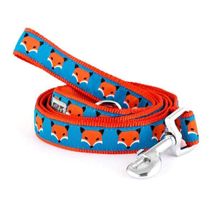Pet Stop Store small 5'8 lead Fun & Playful Foxy Dog & Cat Collar & Leash