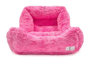Pet Stop Store small Luxurious Hot Pink Bella Dog Bed