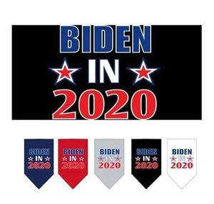 Pet Stop Store Small / Navy Blue Biden in 2020 Bandana