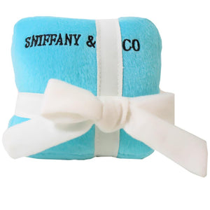 Pet Stop Store small Plush Designer Inspired Sniffany Dog Toy