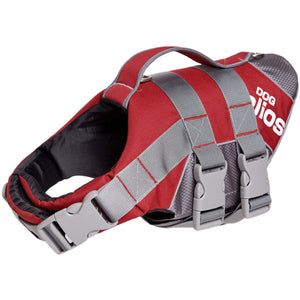 Pet Stop Store small Red Helios Splash-Explore Outer Performance 3M Reflective Dog Harness