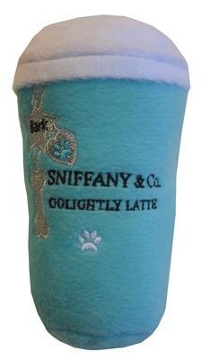 "Pet Stop Store Sniffany & Co. ""GoLightly Boutique Latte"" Dog Toy"