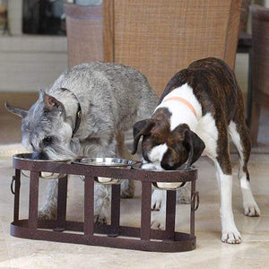 Pet Stop Store Tripoli Elevated Dining Table for Dogs