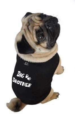 Big Brother Black Dog Tank All Sizes