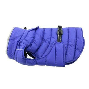 Pet Stop Store xs Blue Alpine Extreme Cold Puffer Dog Coat