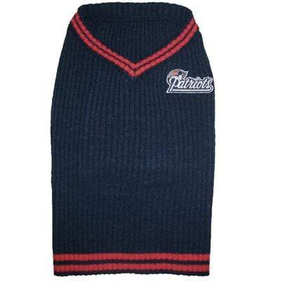 Fun & Stylish NFL New England Patriots Dog Sweater Vest
