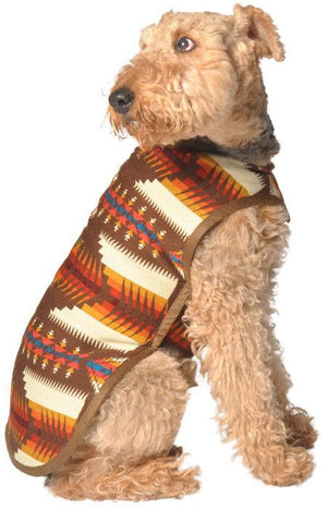 Pet Stop Store xs Handmade Brown Southwest Dog Jacket