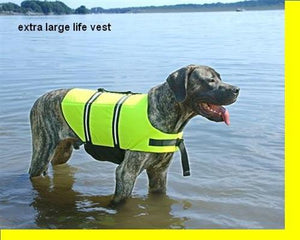 Pet Stop Store xxs All Paws Aboard Yellow Dog Life Jacket All Sizes