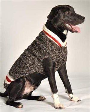 Pet Stop Store xxs Black, Red & White Boyfriend Handmade Dog Sweater