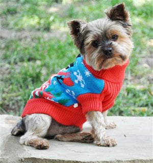 "Pet Stop Store xxs Snowman Holiday ""Ugly"" but Cute Dog Sweater"