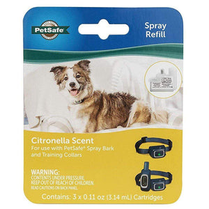 Petsafe Petsafe Spray Refill Cartidges Citronella 3pk