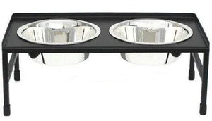 Petsstop Tray Top Elevated Dog Bowl - Medium