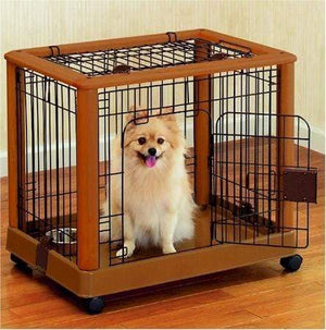 Richell Mobile Pet Pen - Small