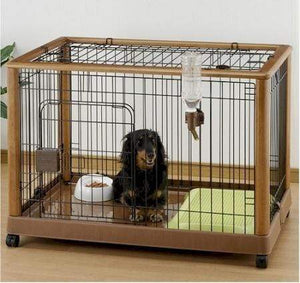 Richell Mobile Pet Pen - Large