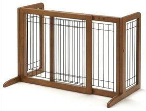Richell Small Bay Isle Freestanding Pet Gate
