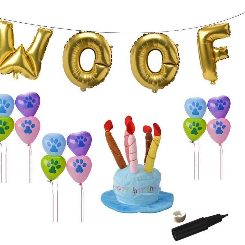 Dog Birthday Decorations Kit by BINGPET