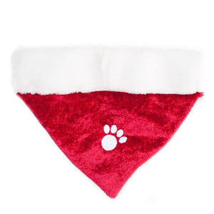 ZippyPaws Holiday Paw Bandana - Christmas Dog Accessory (3 Sizes)