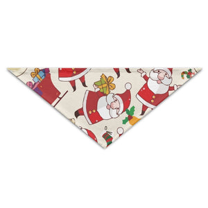 Moondang Holiday Christmas Santa Claus Gift Triangle Scarf Bandana Pet Collars Accessories For Dogs,Puppy