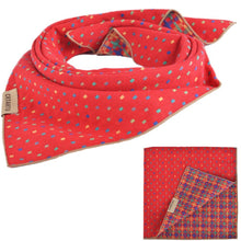 PUPTECK Pet Dog Cat Puppy Bandana Bibs Triangle Head Scarf Accessories Neckerchief for Small to Large Breed