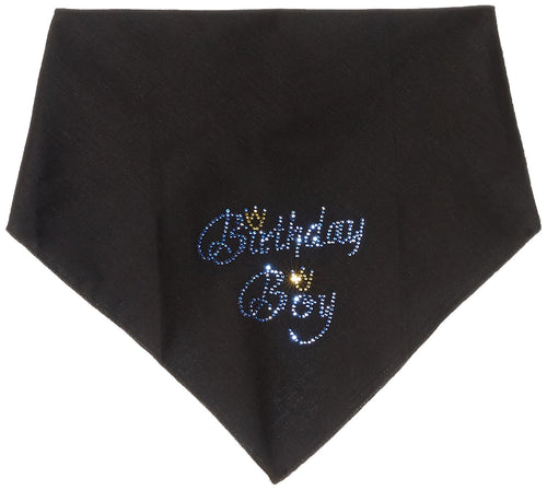 Birthday Boy Rhinestone Bandana