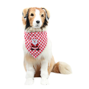 Hbuir Pet Scraf Accessories Adjustable Bandana Neckerchief