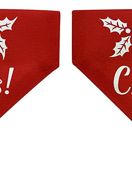 Christmas Gifts for Dogs Christmas Themed Small Dog Bandana Scarf for Dogs Bib