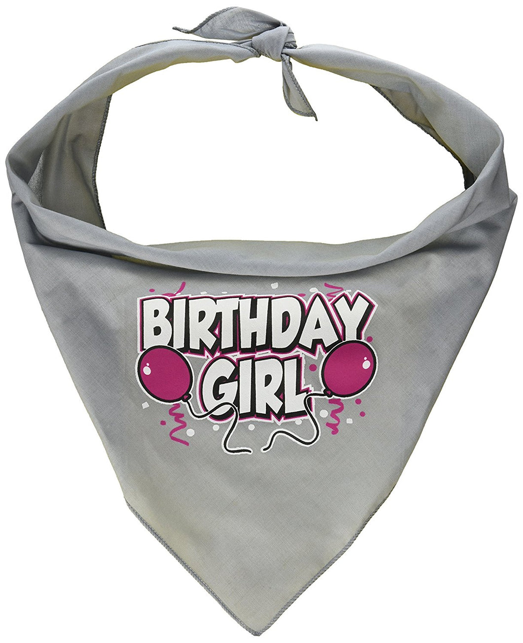Mirage Pet Birthday Girl Screen Print Dog Bandana