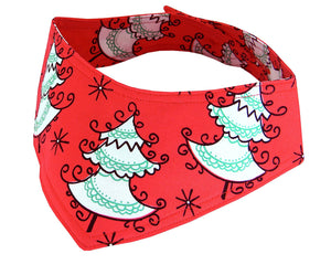 Christmas Dog Bandana In Dr Seuss Style