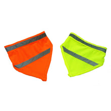 Fashion Luminous Dog Collar For Small Dogs Night Safety Dog Bandana Scarf S/M/L