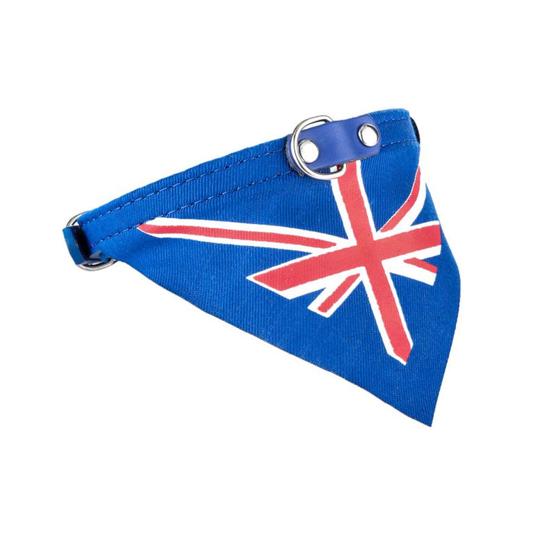 New Flag Style Pet Collar Classic Dog Bandanas for Small Dogs Adjustable for Dogs